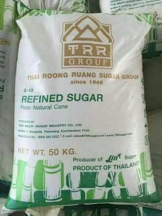 33909 - REFINED White Cane Sugar Thailand