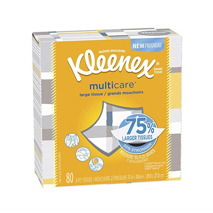 34627 - Kleenex MultiCare Tissue USA