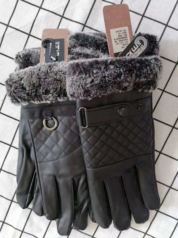 38930 - Men's Winter Genuine Leather Gloves China