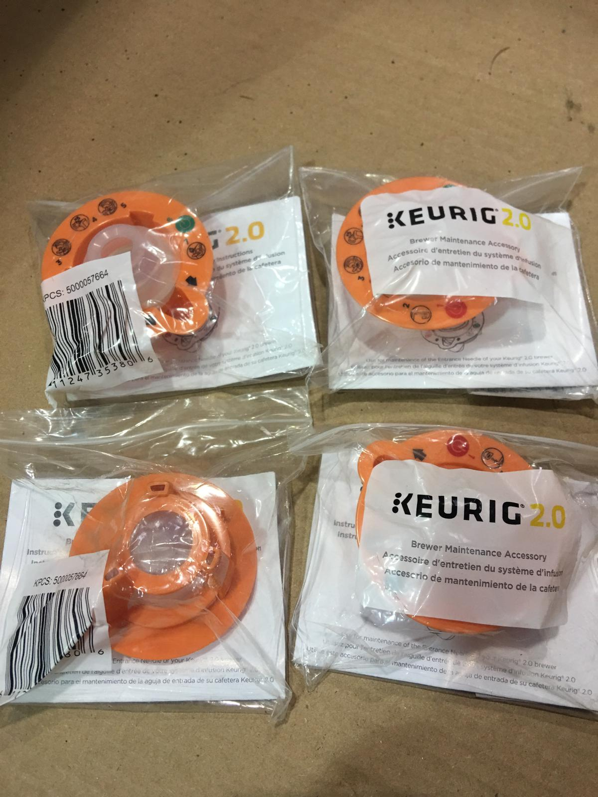 39884 - Keurig 2.0 Brewer Top Needle Cleaning Tool Kit USA