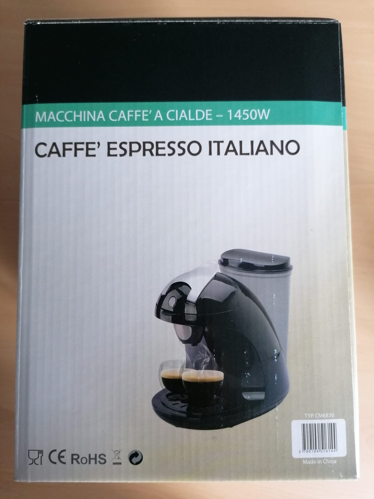 39890 - Coffee machine Europe