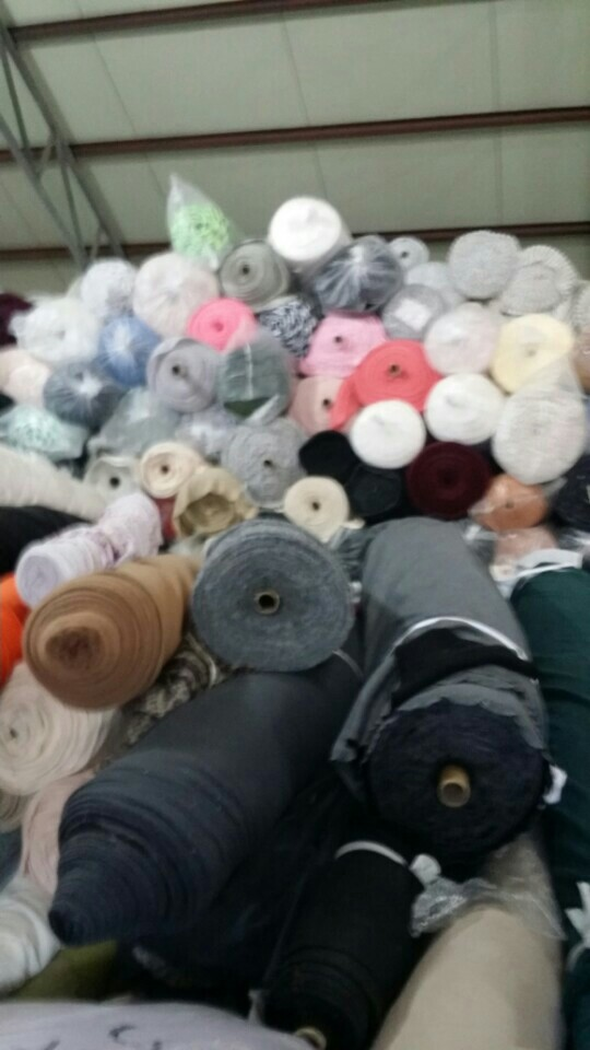 40250 - Fabric mixed with small rolls Korea