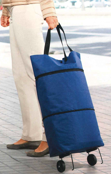 40348 - Trolley bag blue Europe